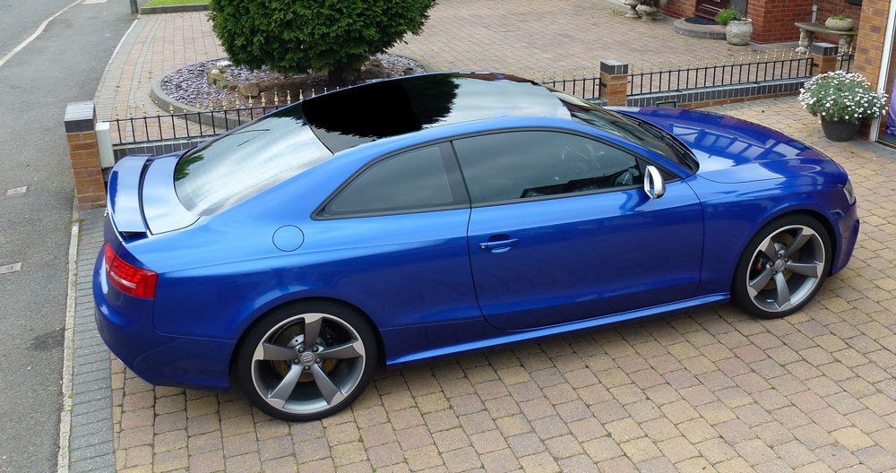 Sepang S5 With Gloss Vinyl Black Roof Audi A5 Forum