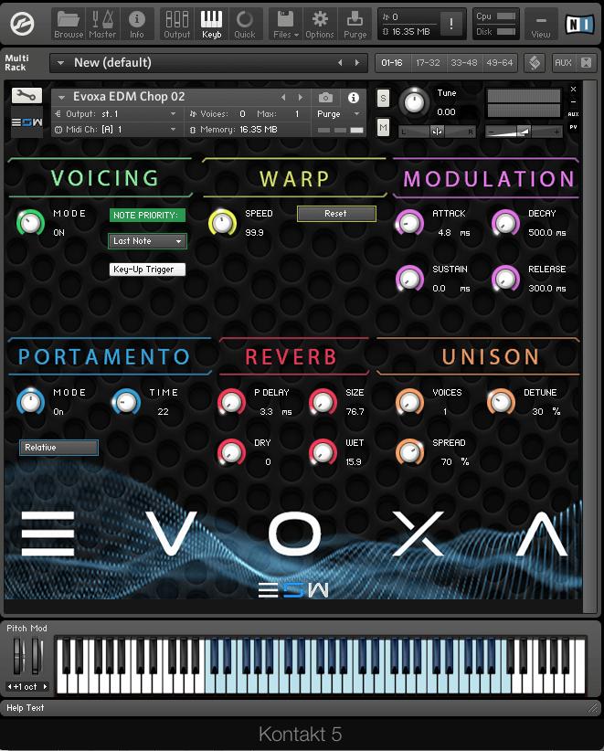 EVOXA Vocal Chops Engine | Sounds